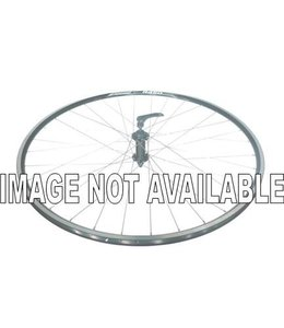 Alex Wheel Alex 700c R450 Joytech Hub Front Silver Hub Black Spokes QR