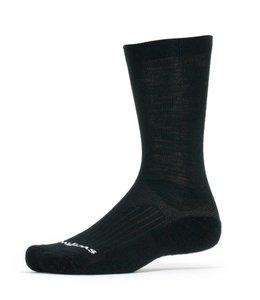 Swiftwick Swiftwick Sock Pursuit Merino Seven Black Large