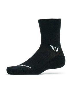 Swiftwick Swiftwick Sock Pursuit Merino Four Black XLarge