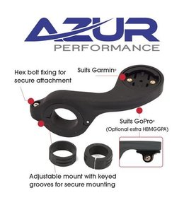 Azur Azur Mount Out Front Garmin Black
