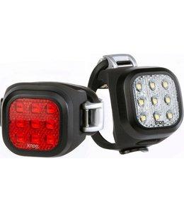Knog Knog Lights Front and Rear Blinder Mini Niner Black