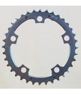 BPW BPW Chain Ring, 36T x 110 BCD 9/10 Speed 7075 CNC Silver w/ramps