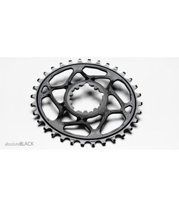 Absolute Black Absolute Black Chainring Oval Black NW Sram GXP 32T