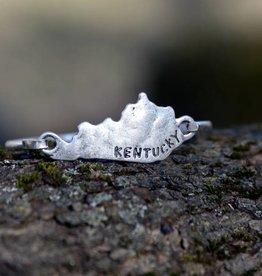Silver Kentucky Bracelet