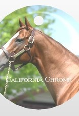 California Chrome Christmas Ornament