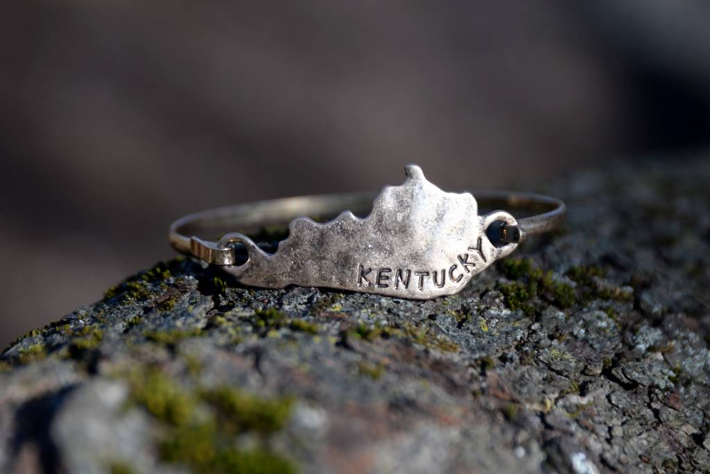 Brass Kentucky Bracelet