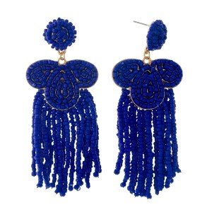 Royal Blue Statement Earring