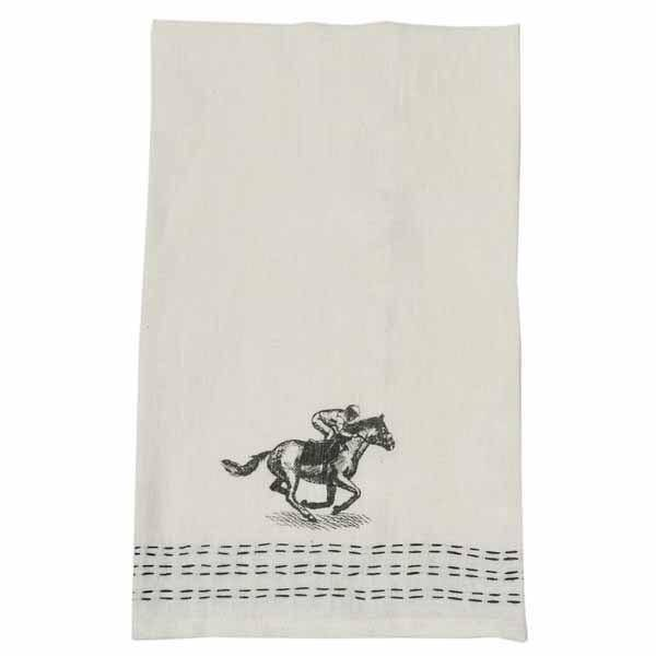 Pomegranate Down the Stretch Linen Hand Towel (Set of 2)