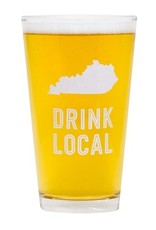 State of Kentucky Pint Glass