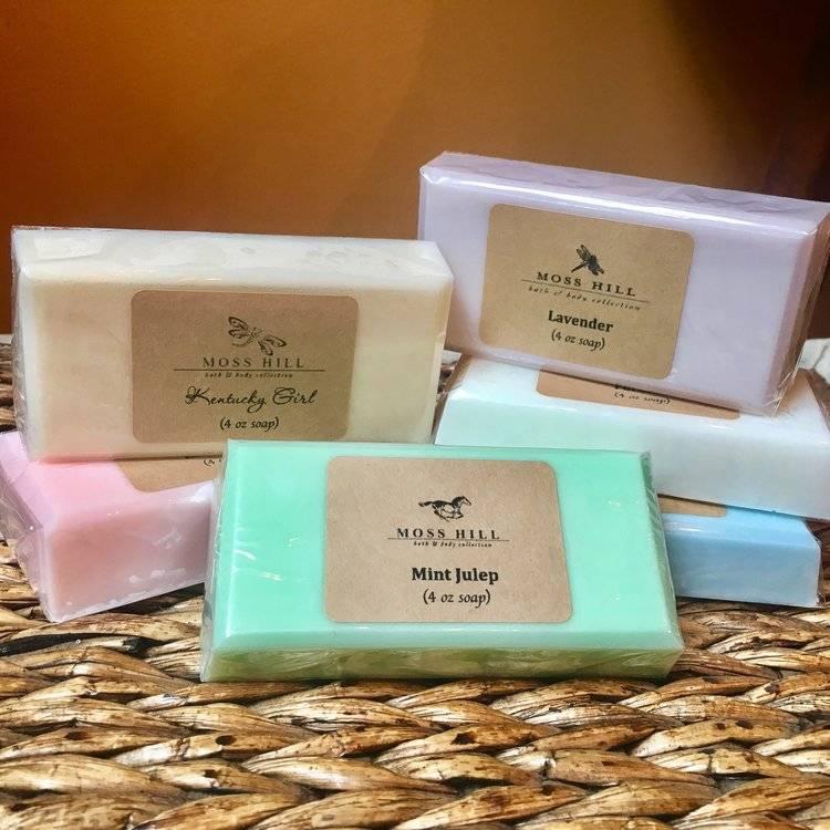 Moss Hill Bath & Body Soap