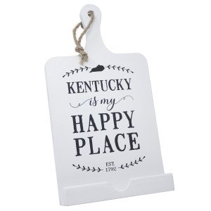 Kentucky Is My Happy Place Recipe Stand