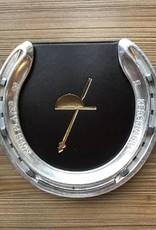 Horse Shoe Leather Coaster