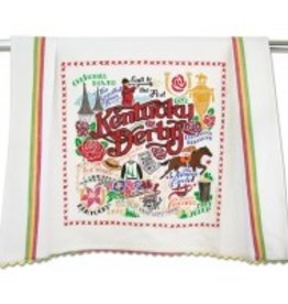 CatStudio Kentucky Derby Dish Towel