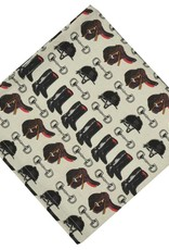 Pomegranate Tack Room Napkins (Set of 4)