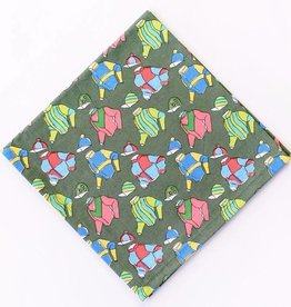Pomegranate Vintage Racing Silks Napkins (Set of 4)