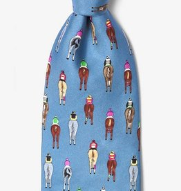 Bringing Up The Rear Silk Tie