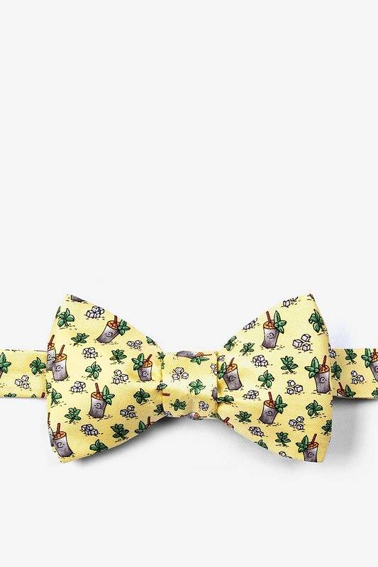 Mint Julep Afternoon Bow Tie