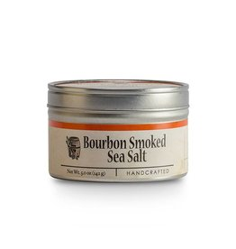 Bourbon Smoked Sea Salt 5 oz. tin