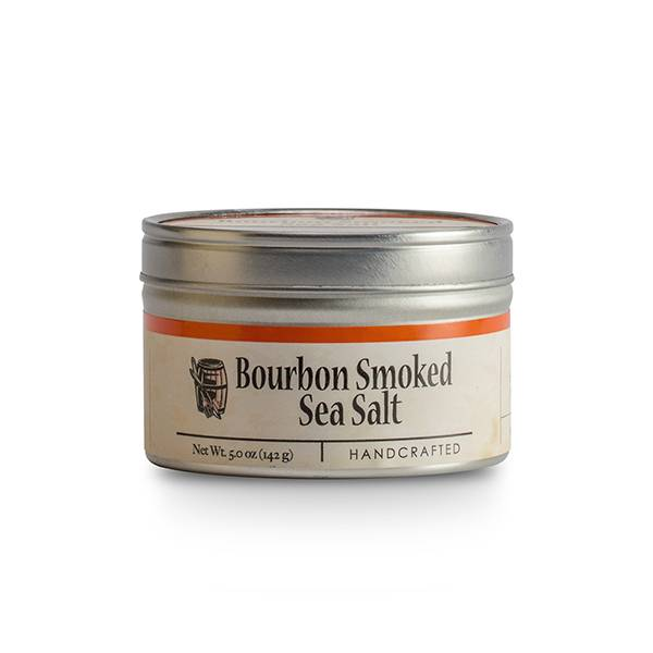Bourbon Smoked Sea Salt 5 oz. tin