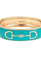 Enamel Bit Bracelet