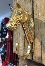 Brass Horse Head Hanger