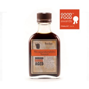 Bourbon Barrel Worcestershire Sauce 100ml.