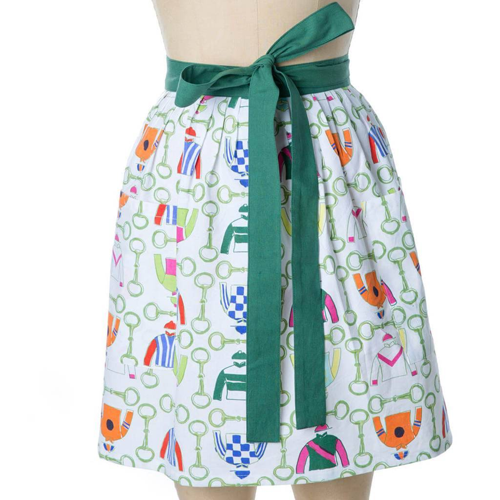 Pomegranate Pick Six Half Apron