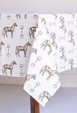 Pomegranate Horse & Snaffle Tablecloth (60x90)