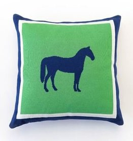 Pomegranate Horse Throw Pillow