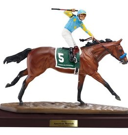 Breyer American Pharoah Artist Resin