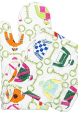 Pomegranate Pick Six Oven Mitt and Pot Holder Set