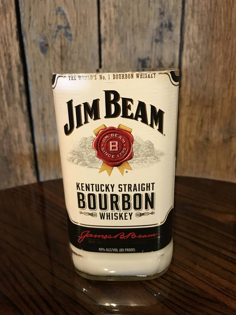 Jim Beam Bottle Candle