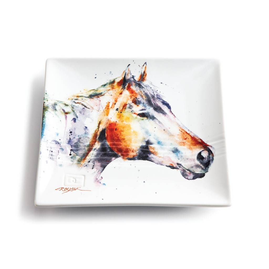 Horse Head Snack Plate