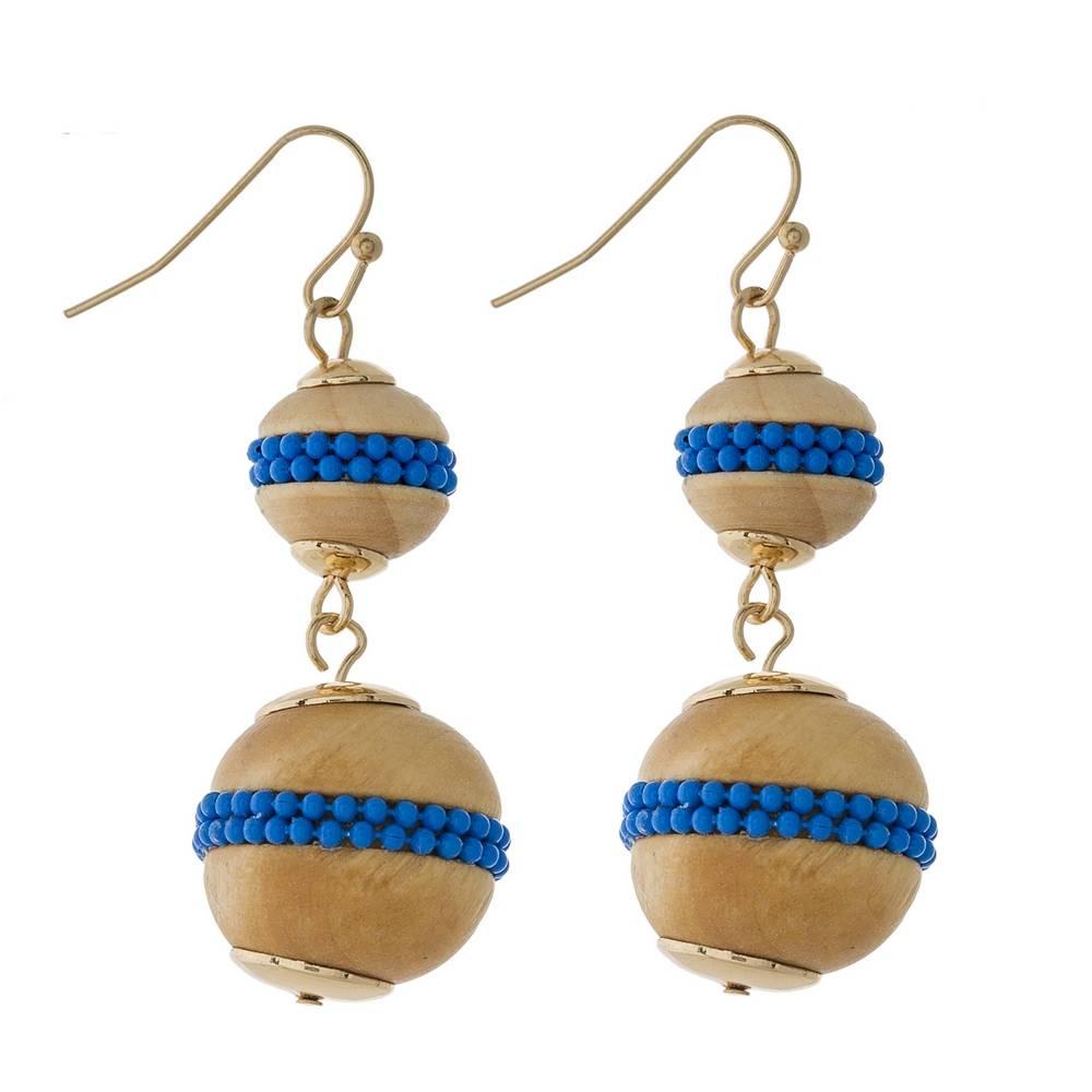 Judson & Company Double Ball Earrings