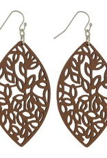 Judson & Company Leaf Earrings