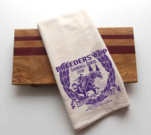 Breeders' Cup 2018 Tea Towel