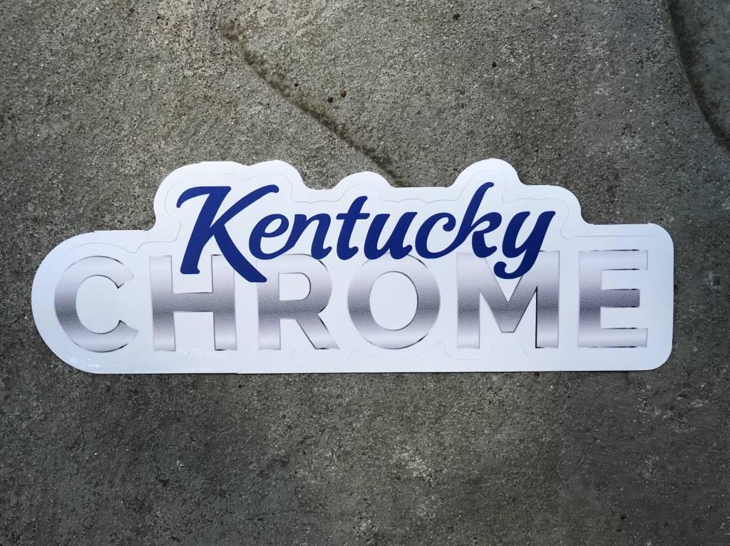 Kentucky Chrome Sticker