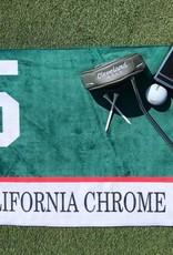 California Chrome Saddle Cloth Golf Towel