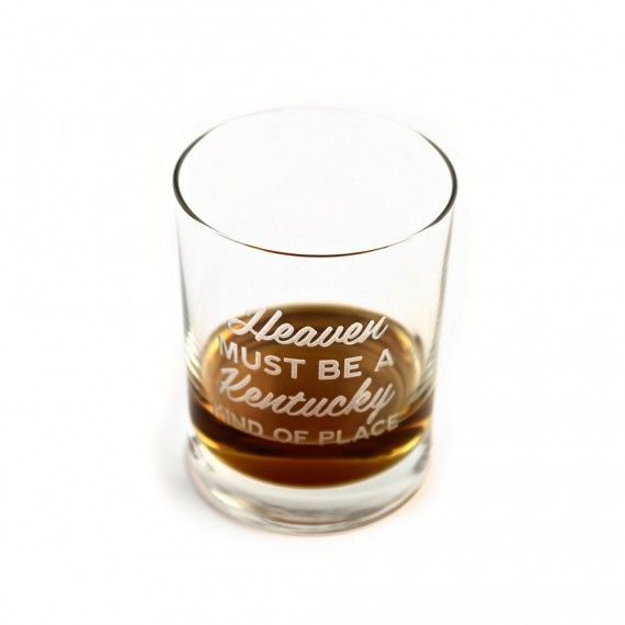 KY for KY Heaven Must Be Rocks Glass
