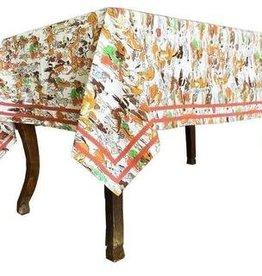 """Pomegranate Paddock Tablecloth 55""""x55"""""""
