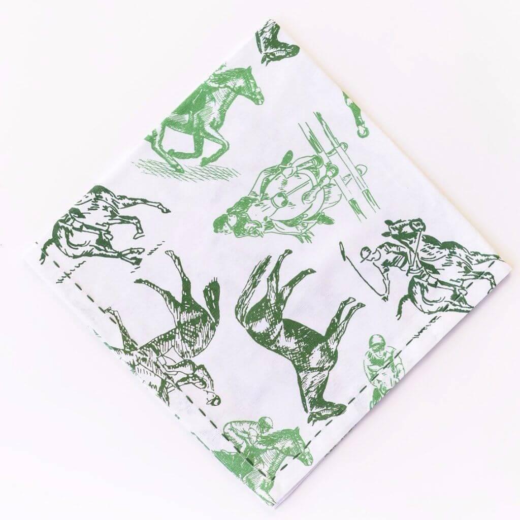 Equestrian Sketch Napkins (set of 4)