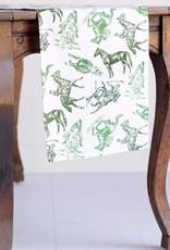 Equestrian Sketch Table Runner