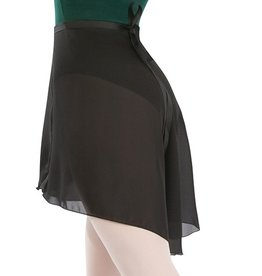 CAPEZIO GEORGETTE LONGWRAP SKIRT