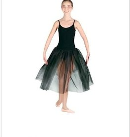 DANSHUZ LONG LENGTH ADULT AND YOUTH TUTUS. TWO LAYERS OF NET TULLE ON ELASTIC STRETCH