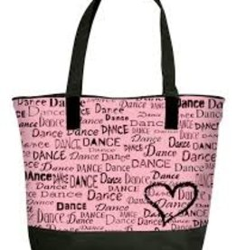 DANSHUZ DANCE IS IN MY HEART TOTE