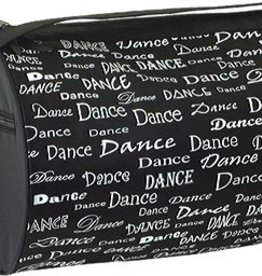 DANSHUZ DANCE FONTS ROLL DUFFEL