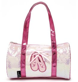 DASHA DESIGNS BALLET SHOES DUFFLE