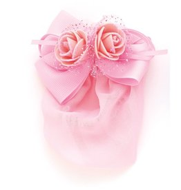 DASHA DESIGNS Glittery Roses Snood