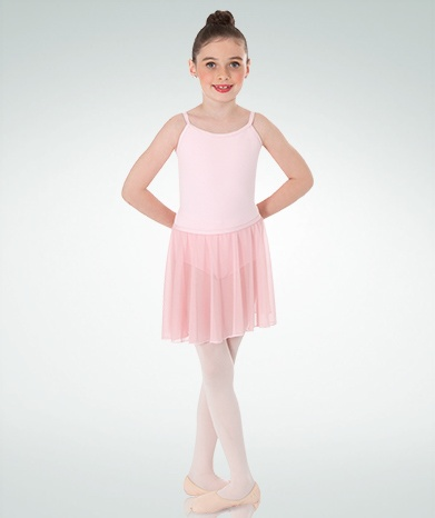 BODY WRAPPERS Chiffon Pull-On Dance Skirt