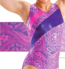 MOTIONWEAR GYM 2-CURVE CROSS BACK LEOTARD